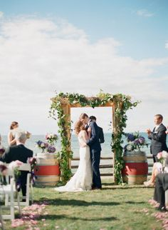 Photography: Emily Steffen Photography - emilysteffen.com Wedding Coordination: Door County Meeting & Event Planners - doorcountyevents.com Floral Design: Flora - doorcountyflowers.com   Read More on SMP: http://stylemepretty.com/vault/gallery/10931