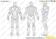 ironman armor blueprints