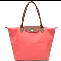 Coral longchamp... I can dig it.
