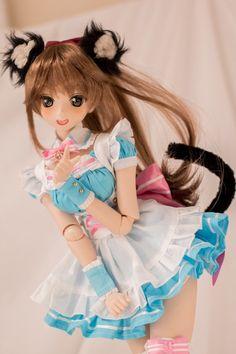 Kawaii Doll, Kawaii Anime Girl, Anime Dolls, Blythe Dolls, Pretty Dolls, Beautiful Dolls, Cute Japanese Girl, Dream Doll, Asian Doll