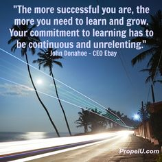 This quote says it all. According to Forbes.com 86% of the wealthiest people in the world believe in lifelong self-improvement & 88% read 30 minutes or more each day. That's called a clue! #SelfImprovement #PersonalDevelopment #Entrepreneur #Success http://propelU.com