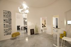 A picture of the Scheisse lamp at our retailer in Bucharest, Romania - Maison 13. #Scandinavian #Nordic