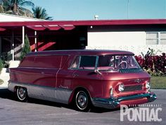 The relationship between Pontiac and GMC goes back much farther than their merging in 1996. Pontiac has occasionally collaborated on projects with GM's truck division since the '20s-the most widely known example was in the 1955-59 period, when Pontiac V-8s were installed in GMC trucks.