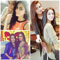 Maya Ali with her Bhabi!
