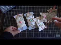 ▶ Tilda Spools created with the WRMK Envelope Punch Board - YouTube