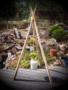 Hay poles in my garden www.kelopeukalo.com