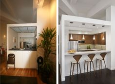Before/After: 130 Barrow Street Loft by ixdesign