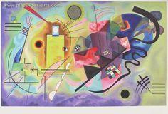 DLM118 - Composition I, Lithographie, du peintre, Wassily, KANDINSKY, Signée dans la planche