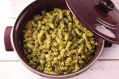 Blender Pesto - an incredibly easy pesto recipe. I used this recipe the first time I made pesto, and I was very satisfied.