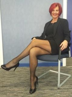 "olderladiesintights: ""Another mature in her Tights.. """