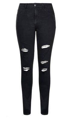 Get your rock on in the Harley Rock'n'Roll Skinny Jean.  Key Features Include: - The perfect fit for an hourglass body shape - Single button and fly fastening - Skinny cut leg from hip to hem - Mid rise fit - Distressing detail - Faded black wash - Classic five pocket denim styling - 360 Technology Stretch brushed denim - High denim fibre retention to maintain shape - Signature Chic Denim Silver hardware throughout zips, buttons and rivets