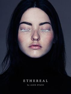 Ethereal - Photographed by Alex Evans  Model Mary / Elmer Olsen Hair & Make-up Natalie Ventola / P1M Nails Nargis Khan / P1M
