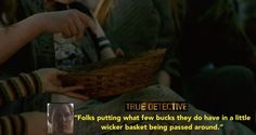 Fun Facts About Wicker Furniture - HBO's True Detective displays plenty of wicker chairs and porch furniture used in 1990's Louisiana decor. We enjoyed the special touch of adding authentic details from all aspects of these peoples lives. The wicker basket was a very important part of the religious service for donations to the church, people would give even if they had very little according to Rust Cohle.