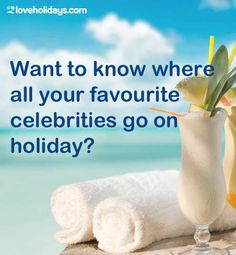 Want to know where your favourite A-list celebrities go on holiday? Check it out here Celebrity Travel, Celebrity Gossip, Love Holidays, Going On Holiday, Not Good Enough, Beyonce, To Go, Bucket, Celebrities