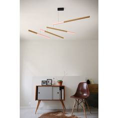 Luminaire Led design et mobile TASSO Deco Design, Lamp Design, Luminaire Led, Lampe Led, Suspension Design, Light Architecture, Mobile Design, Ceiling Lamp, Solid Oak
