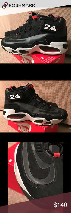 outlet store 5d384 718d1 Nike Air Ken Griffey Jr. Max 1 Good used condition some areas of black soles