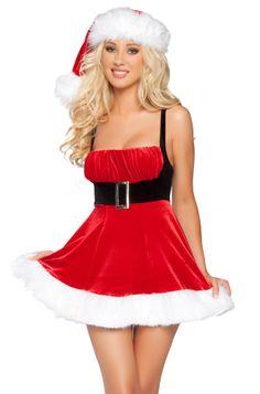 Sexy Santa Christmas Dress - Herald Angel Costume #xmas #christmas #party #outfit #sexy #santa #costume