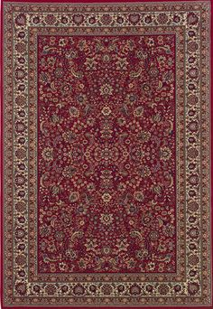 Sphinx by Oriental Weavers Area Rugs: Ariana Rugs: Red - Traditional Rugs - Area Rugs by Style Burgundy Rugs, Ancient Persia, Synthetic Rugs, Traditional Area Rugs, Modern Carpet, Grey Carpet, Silver Carpet, Patterned Carpet, Red Rugs