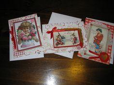Valentine cards for my grandchildren