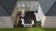 House 1 small backyard idea the sims freeplay #thesimsfreeplay