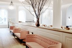 Spring restaurant in London's Somerset House | Remodelista