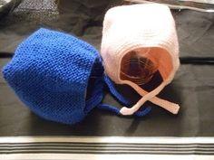 tuto tricot bonnet béguin bébé - YouTube