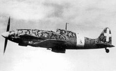 Late summer 1941 - Italian Macchi 202 Folgore: under armed in its earlier variants, but with its license built Mercedes DB601 engine as used in the Bf 109F one of the best fighters of the mid war years: they completely outclassed the Hurricanes then defending Malta.