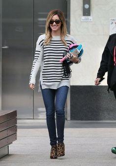 Ashley Tisdale - Ashley Tisdale Leaves the Gym