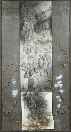 loverofbeauty:  Anselm Kiefer:   Jesse Tree  (1987)