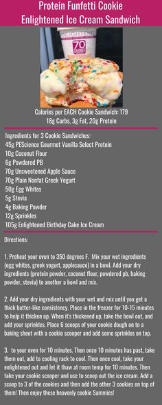 Healthy Protein Snacks That Pack a Punch Healthy Protein Snacks, Protein Desserts, High Protein Recipes, Protein Foods, Healthy Sweets, Healthy Recipes, Protein Bread, Fat Foods, Enlightened Ice Cream