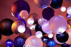 Résultats Google Recherche d'images correspondant à http://www.mariage-original.com/img/mariage/lanterne-mariage-deco-plafond-violet-mauve-beige-parme.jpg