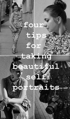 ➡ Some basic tips for your self portraits