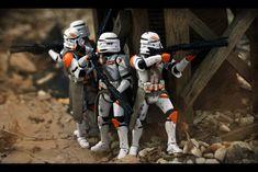 Clone trooper fireteam