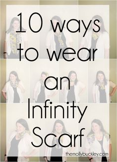 10 Ways to Wear an Infinity Scarf