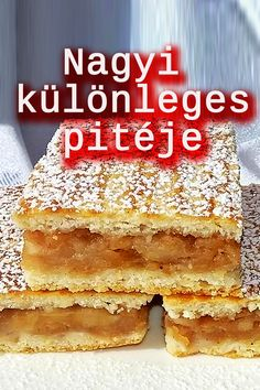 Hungarian Desserts, Hungarian Cake, Hungarian Recipes, Cookie Desserts, Dessert Recipes, Tasty, Yummy Food, Baking And Pastry, Winter Food