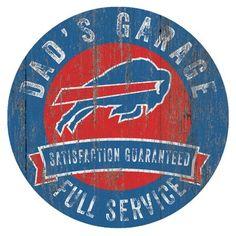 a93a8e20 Buffalo Bills Man Cave Bottlecap Wall Sign | Products | Buffalo ...