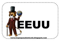 Fichas proyecto la vuelta al mundo Mickey Mouse, China, India, Cartoon, Alba, Countries, San Francisco, Sunshine, Chocolate