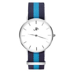 Bloor - Silver Timepiece with NATO Strap – Joseph Nogucci