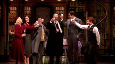 """Check out songs and scenes from Roundabout Theatre Company's 2016 Broadway revival of """"She Loves Me"""", starring Laura Benanti, Zachary Levi , Gavin Creel, and. She Loves Me Musical, Broadway Nyc, Zachary Levi, Music Clips, New York Travel, Musical Theatre, Travel Quotes, Love Her, Musicals"""