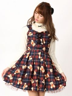 Ank Rouge Teddy Dress ♡
