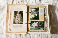 a beautiful journal. hope mine will look like this one day when my kids come across it on a dusty shelf :)