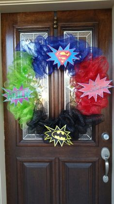 Superhero wreath More
