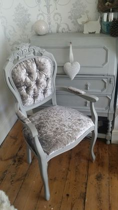 Vintage Chic Home Occasional Chairs On Pinterest