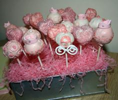 "Cake pops are the ""in thing"" at the moment, and are very popular for birthdays, baby showers, and gifts in general. Here are some I made recently for my daughter's Disney princess themed birthday party. For the cake ball mixture … Continue reading → Cinderella Cake Pops, Cinderella Baby Shower, Disney Cake Pops, Princess Cake Pops, Cinderella Birthday, Disney Cakes, Princess Birthday, Disney Princess Party, Princess Theme"