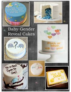 Check out the delicious treats that the Aviary Cafe can prepare for your next special occasion. #GenderReveal