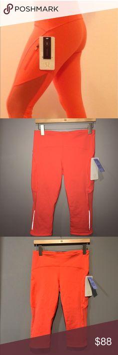Lululemon Sun Runner Crop CAPE NWT/8 Lululemon Sun Runner Crop CAPE NWT/8 lululemon athletica Pants Ankle & Cropped