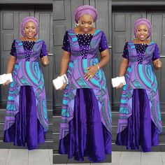 The right picture collection of 2018 latest ankara styles for ladies. Every woman deserves to rock the latest ankara styles of 2018 African Fashion Ankara, African Wear, African Attire, African Dress, African Lace, African Style, Ankara Short Gown Styles, Latest Ankara Styles, Ankara Gowns For Wedding