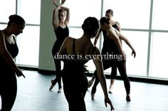 I dance because dance is everything (lexicalklutz).