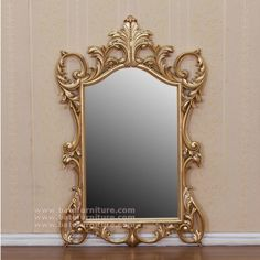 Heavy Carving Mirror Square