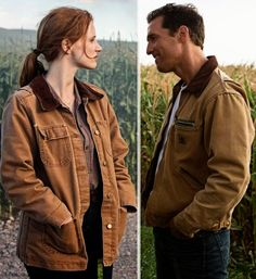 Jessica Chastain Matthew McConaughey Interstellar Murph Coop jackets